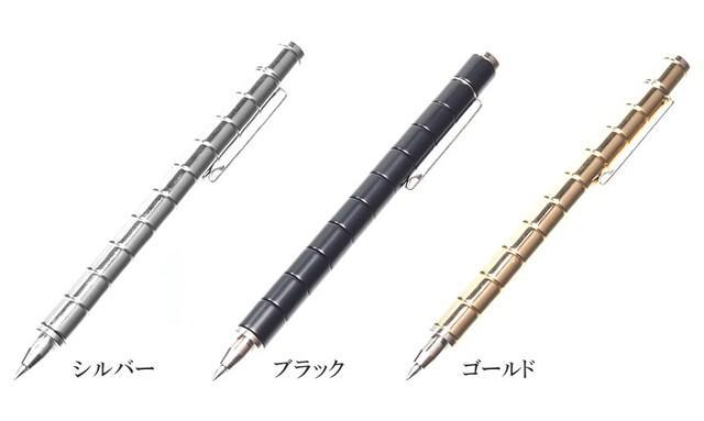M)マグネットで遊べるボールペン!ゴールド_5