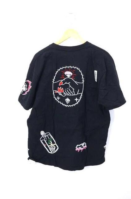 Insonnia Projects(インソニアプロジェクツ)刺繍TシャツクルーネックTシャツ_2