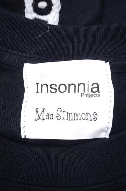 Insonnia Projects(インソニアプロジェクツ)刺繍TシャツクルーネックTシャツ_3