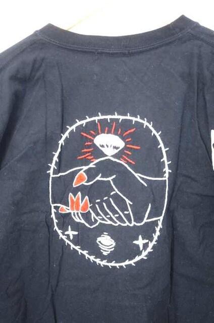 Insonnia Projects(インソニアプロジェクツ)刺繍TシャツクルーネックTシャツ_4