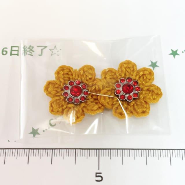 6*ハンドメイド*キラキラビジューお花モチーフ 32_1