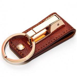 ¢M 合金製で頑丈 高級感のあるデザイン  ベルト通しタイプ キーリング/GD_2