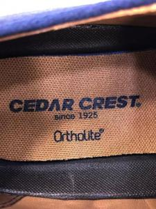CEDAR CREST(セダークレスト)スウェードストレートチップストレートチップ_3