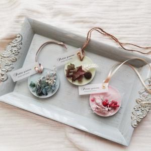 ミニアロマワックスサシェ/紫陽花くすみピンク/香りが選べる_2
