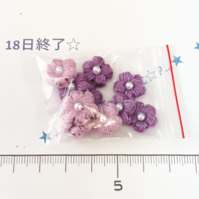 18*ハンドメイド*お花モチーフ 4_1