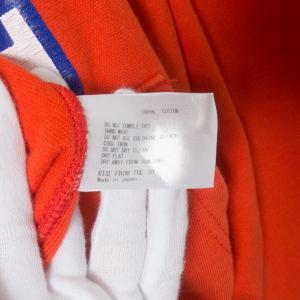 Americana アメリカーナ ジップアップパーカー ロゴ レッド 赤 綿100% コットン 日本製 ジャンパー アウター 春 秋 長袖 大人カジュアル_5
