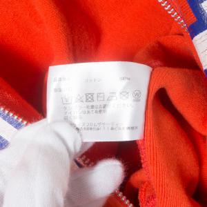 Americana アメリカーナ ジップアップパーカー ロゴ レッド 赤 綿100% コットン 日本製 ジャンパー アウター 春 秋 長袖 大人カジュアル_6