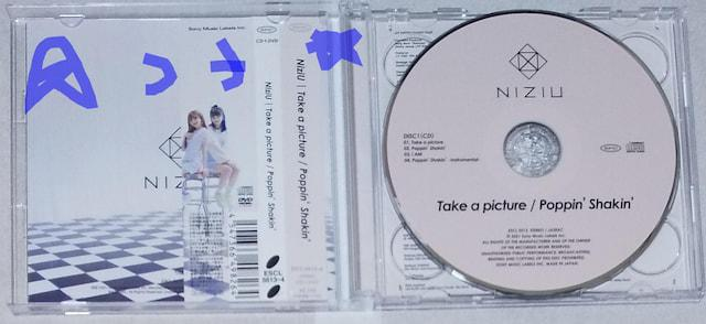 NiziU Take a picture/Poppin' Shakin' TypeA CD+DVD 未使用_3