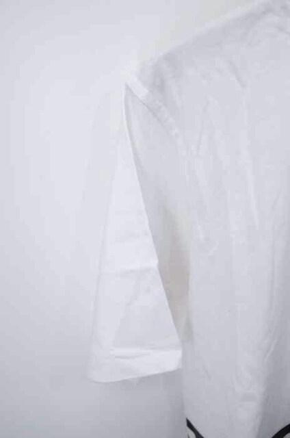 ANDREA CREWS ((アンドレア クルーズ)異素材切替TシャツクルーネックTシャツ_5