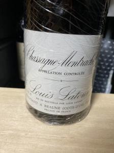1989 シャサーニュ モンラッシェ ルイラトゥール Louis Latour Chassagne Montrachet 赤ワイン 750ml 古酒 ブルゴーニュ_1