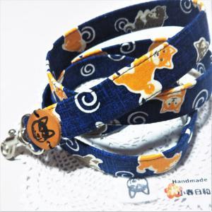 2種の柴犬とうずまき模様 和風な犬用リード リード・首輪 小春日和_2
