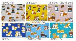 コロコロ柴犬の中型犬用お散歩首輪(2.5cm幅) リード・首輪 小春日和_3