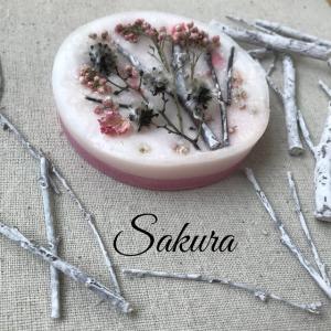 【送料無料】桜の春色置き型アロマワックス♪_1