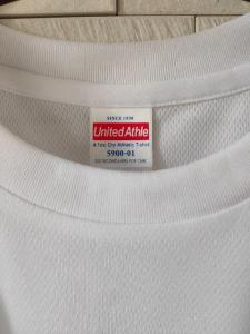 新品 オリジナル ドライ 半袖 丸首 Tシャツ メンズ ジム 白 S_8