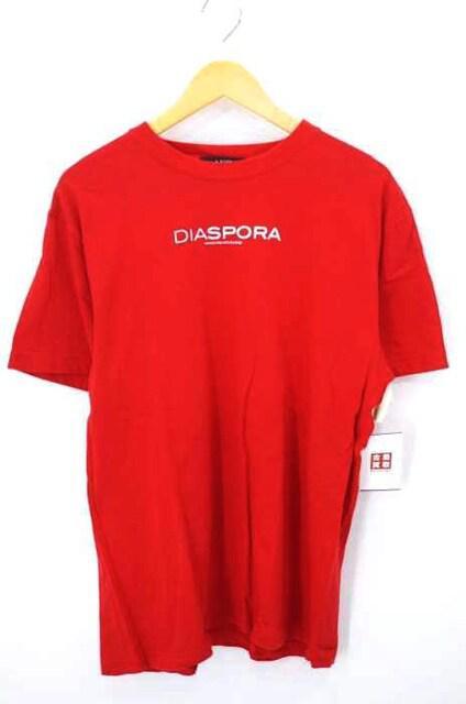 Diaspora Skateboards(ディアスポラスケートボーズ)ロゴプリントTシャツクルーネックTシャ_1