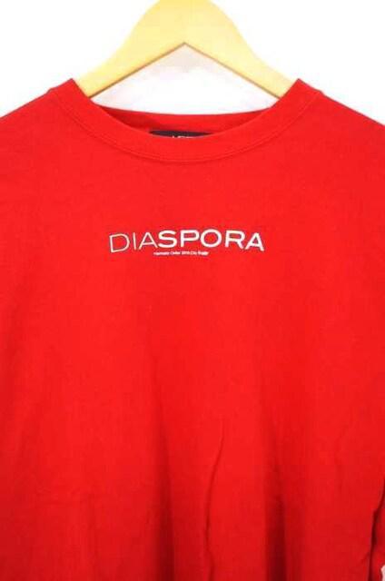 Diaspora Skateboards(ディアスポラスケートボーズ)ロゴプリントTシャツクルーネックTシャ_5