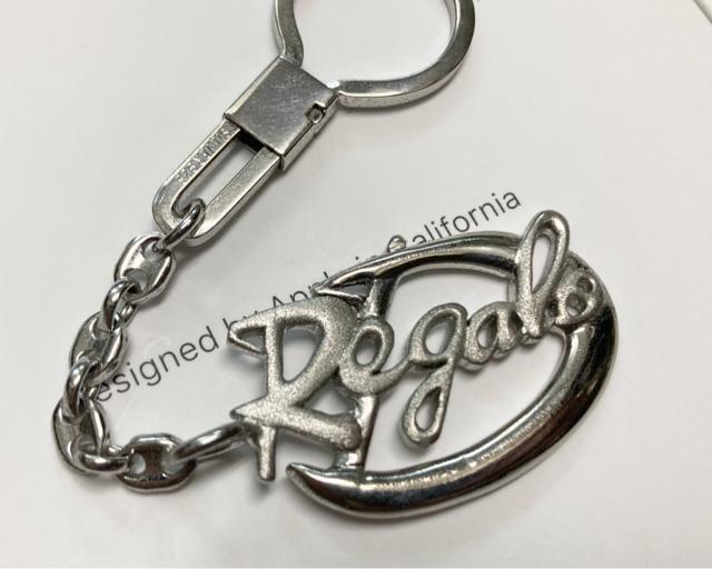 silver925 シルバー Regaroロゴ キーホルダー_2