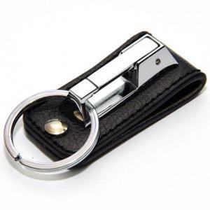 ¢M 合金製で頑丈 高級感のあるデザイン  ベルト通しタイプ キーリング/SV_2
