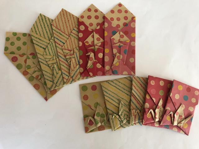 ハンドメイド 折り紙 箸袋&ポチ袋 おもてなし_1