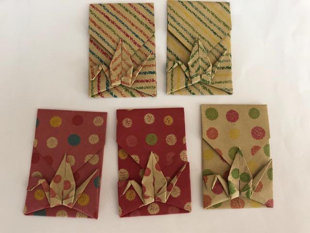ハンドメイド 折り紙 箸袋&ポチ袋 おもてなし_3
