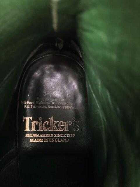 Tricker\s(トリッカーズ)MALTON バーニッシュ×コマンドカントリーブーツカントリーブーツ_3