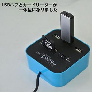M) LED点灯 マルチ USBカードリーダー_2