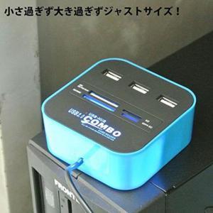 M) LED点灯 マルチ USBカードリーダー_3
