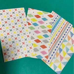 ハンドメイド 折り紙で作ったポチ袋_2