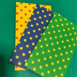 ハンドメイド 折り紙で作ったポチ袋_3