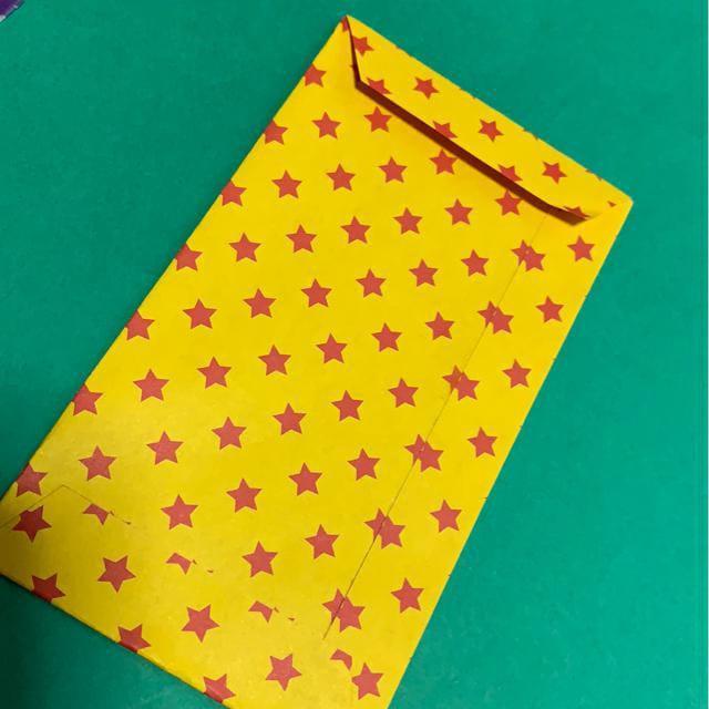 ハンドメイド 折り紙で作ったポチ袋_6