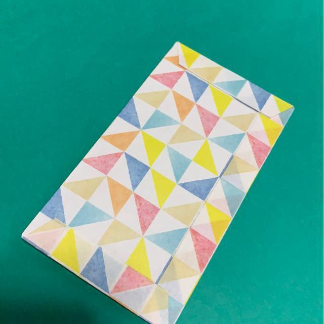 ハンドメイド 折り紙で作ったポチ袋_7