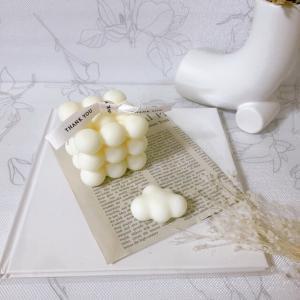 ソイキャンドルセットBOX付き+くものミニパーツ、英字ペーパープレゼント 韓国キャンドル ギフト_4
