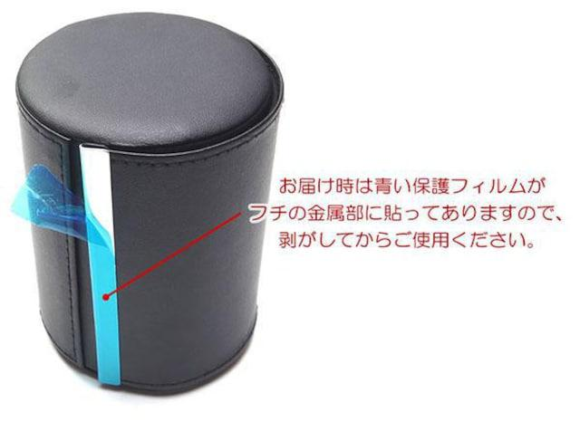 ♪M 出張 旅行 持ち運びに フェイクレザー製のネクタイケース/BK_5