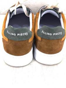 Filling Pieces(フィリングピース)MONDO RIPPLE スエード ローカットスニーカースニーカー_4