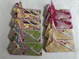 ハンドメイド 折り紙 鶴折箸袋 8枚 おもてなし_1