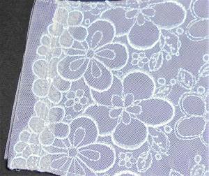 即決◆大サイズ◆白桜サクラ刺繍レース×濃紫下地◆ファッションマスク_3