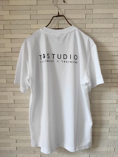 新品 オリジナル ドライ 半袖 丸首 Tシャツ メンズ ジム 白 M_5