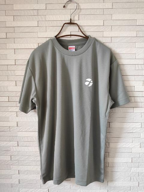 新品 オリジナル ドライ 半袖 丸首 Tシャツ メンズ グレー S_1