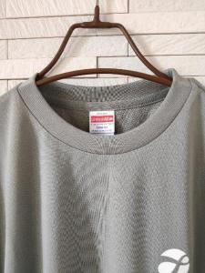 新品 オリジナル ドライ 半袖 丸首 Tシャツ メンズ グレー S_2