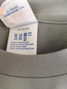 新品 オリジナル ドライ 半袖 丸首 Tシャツ メンズ グレー S_8
