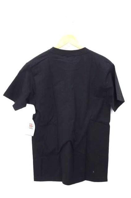 KNOW WAVE(ノーウェーブ)サイドラインロゴプリントTシャツクルーネックTシャツ_2