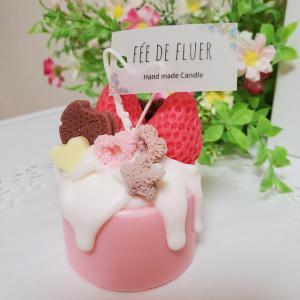 再✨とろ~りケーキキャンドル(ピンク)_2