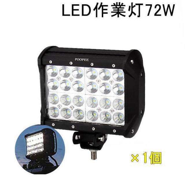 作業灯 ワークライト 72W 投光器 サーチライト 12V-24V_1