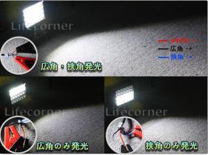 作業灯 ワークライト 72W 投光器 サーチライト 12V-24V_9