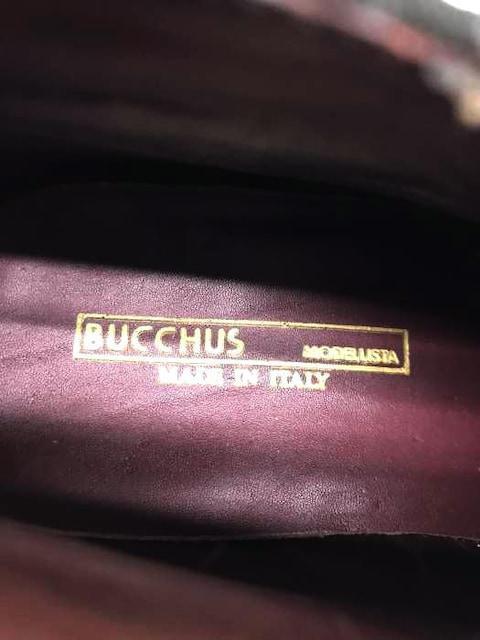 BUCCHUS(バッカス)スウェードレザーシューズプレーントウ_3