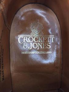 CROCKETT&JONES(クロケットアンドジョーンズ)英国製 PEMBROKE ウイングチップシュー_3