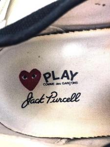 PLAY COMME des GARCONS(プレイコムデギャルソン)Jack Purcellスニーカー_3