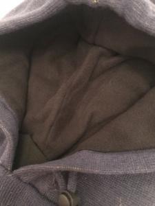 防寒 フード付き ネックウォーマー  ニット帽 内側フリース_5