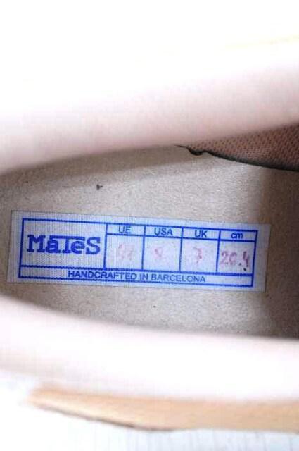 MATES(マテス)レザースエード  ローカットスニーカースニーカー_3