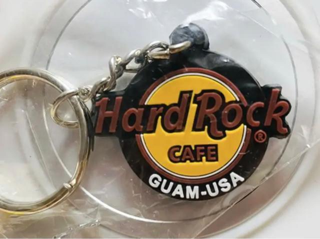 キーホルダー Hard Rock Cafe GUAM-USA限定 新品、未開封_2